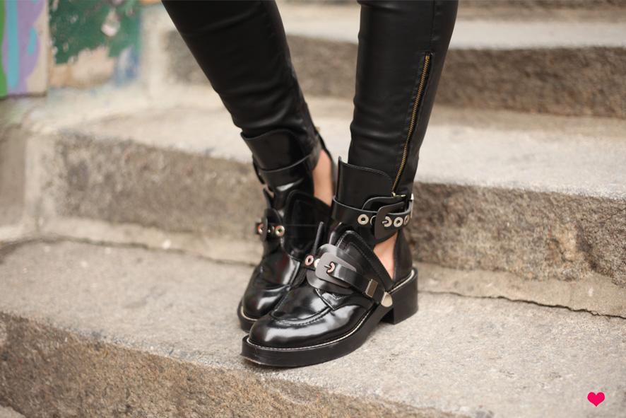 Alice's Balenciaga Boots