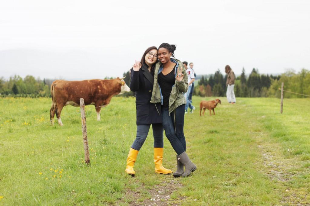Anna et Marine ( deux filles que j'adore <3 )