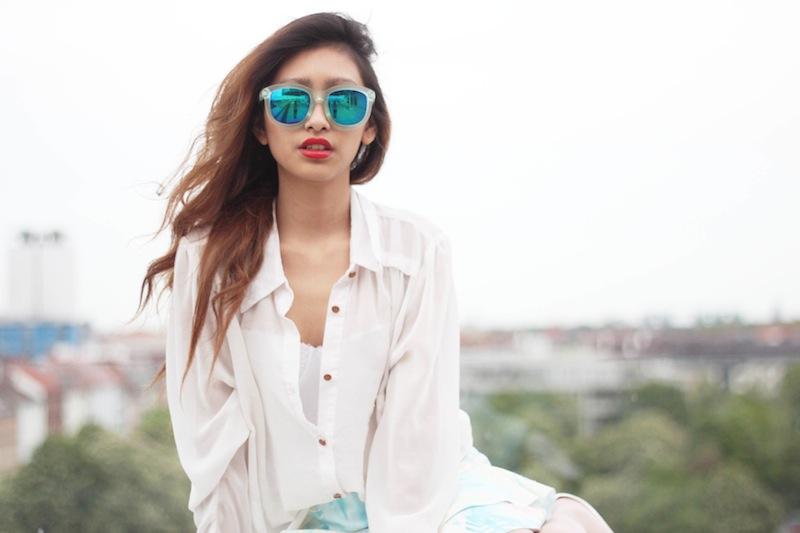 lunettes de soleil miroir zerouv