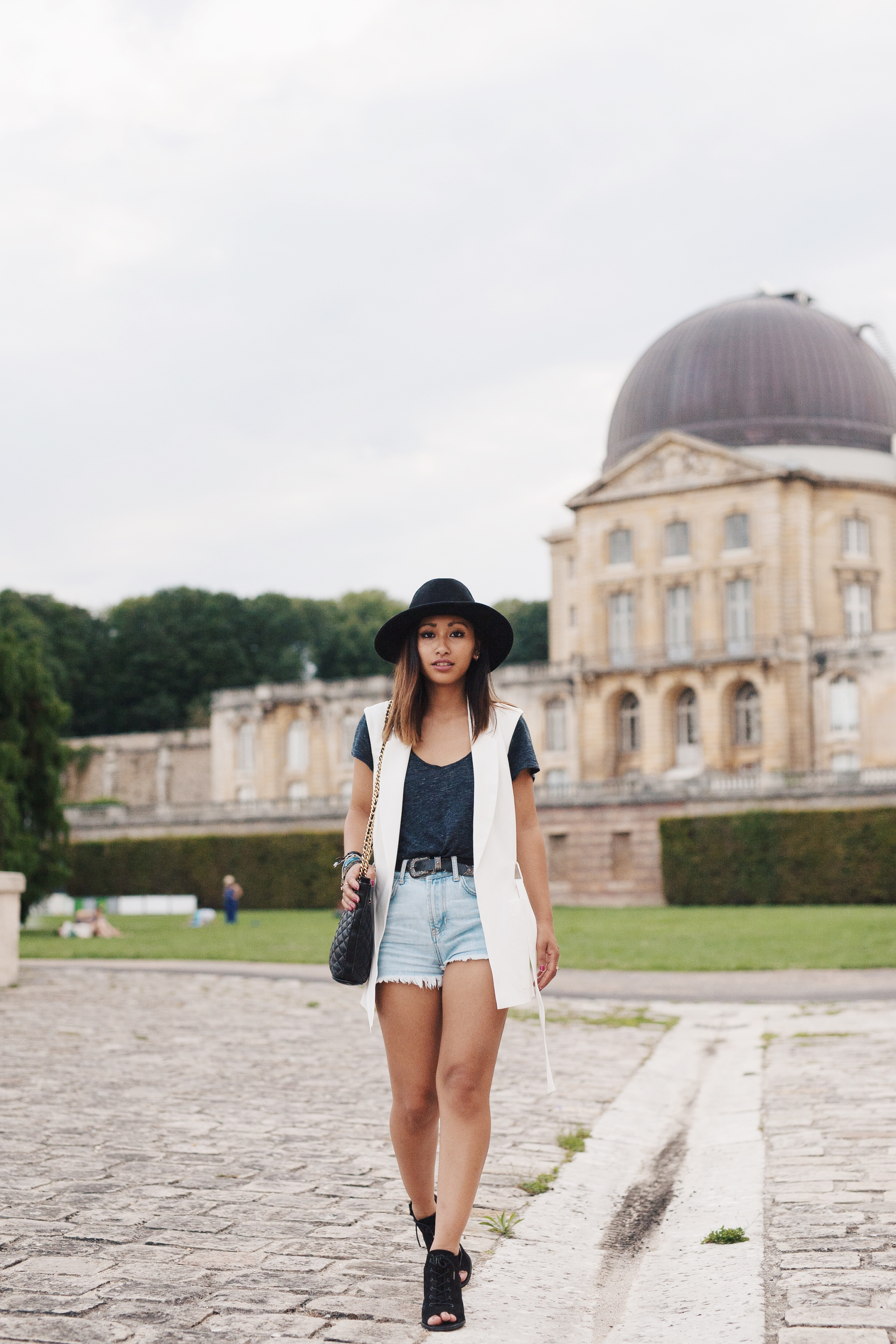 fashion blog denim short