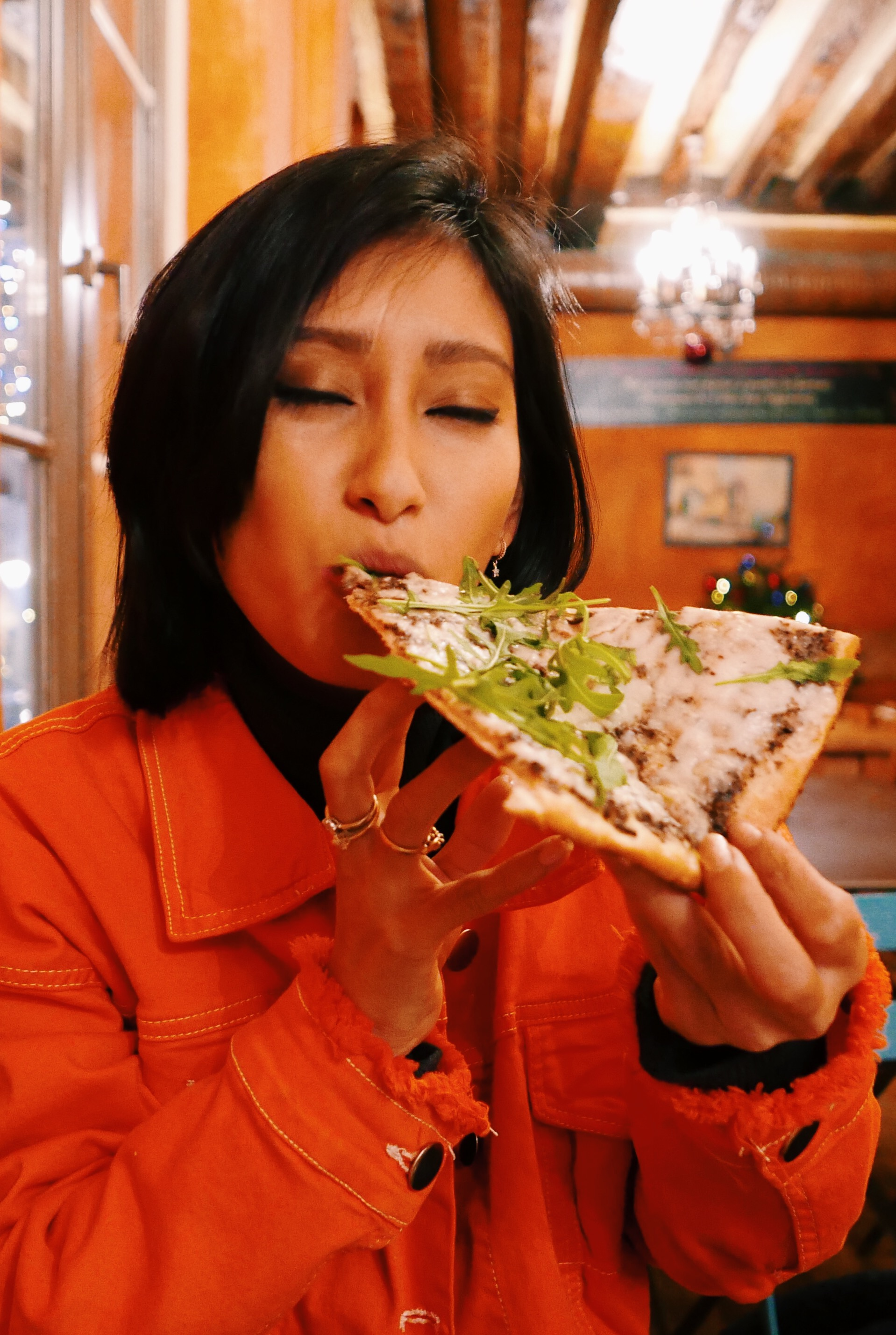 pizza truffe